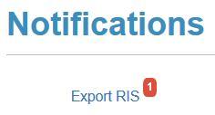 Epistemonikos Export RIS